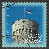 Estonia SG553 2007 Fortress (2nd Issue) 10k Good/fine Used [38/31484/6D] - Estonia