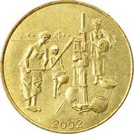 Monnaie, West African States, 10 Francs, 2002, Paris, TTB, Aluminum-Bronze - Ivory Coast