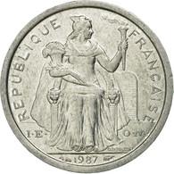 Monnaie, French Polynesia, Franc, 1987, Paris, SUP, Aluminium, KM:11 - Polynésie Française