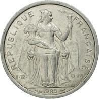 Monnaie, French Polynesia, Franc, 1985, Paris, TTB, Aluminium, KM:11 - Polynésie Française