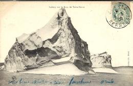 1905- C P A ( Iceberg Sur Le Banc De Terre-Neuve)affr. 5 C Oblit. S - MALO / KERMESSE - Postmark Collection (Covers)