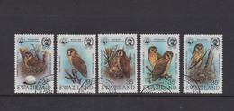Swaziland 1982 WWF , Owl , Used - Swaziland (1968-...)