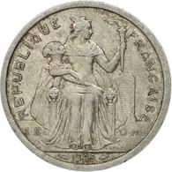 Monnaie, French Polynesia, 2 Francs, 1985, Paris, TB, Aluminium, KM:10 - Polynésie Française