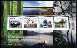 Canada (Scott No.2504 - Courant / Feuillet / SS / Definitives 2012) [**] BF / SS - Blocs-feuillets