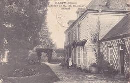 CPA - 08 - HERPY - Maison De M. Braibant Député - Frankreich