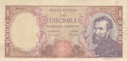 Italie - Billet De 10000 Lire - 13 Février 1973 - Michelangelo - 10000 Lire