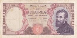 Italie - Billet De 10000 Lire - 8 Juin 1970 - Michelangelo - 10000 Lire