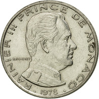 Monnaie, Monaco, Rainier III, Franc, 1978, TB+, Nickel, Gadoury:MC 150, KM:140 - Monaco