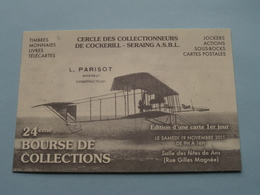 24ème BOURSE De COLLECTIONS ( Cercle Des Collectionneurs De Cockerill - SERAING) ANS à 2011 ( N° 246 ) ! - Bourses & Salons De Collections