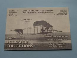 24ème BOURSE De COLLECTIONS ( Cercle Des Collectionneurs De Cockerill - SERAING ) ANS à 2011 ( N° 245 ) ! - Bourses & Salons De Collections