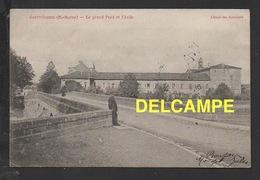 DD / 52 HAUTE MARNE / SAINT-DIZIER / LE GRAND PONT ET L' ASILE / ANIMÉE / CIRCULÉE EN 1904 - Saint Dizier