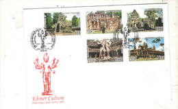 Cambogia FDC  2005 Khmer Culture  Scott.2263/2267+See Scan ; - Cambogia