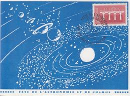Carte  FRANCE  Fête  De  L' Astronomie  Et  Du  Cosmos   VILLENEUVE  LES  AVIGNON   1984 - Astronomie