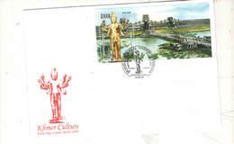 Cambogia FDC  2005 Khmer Culture  Scott.2268+See Scan ; - Cambogia