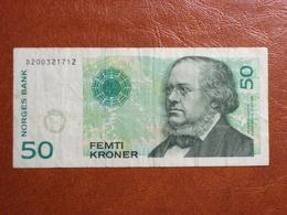Norvège - Billet De 50 Kroner - 2008 - Peter Christen Asbjornsen - Norvège