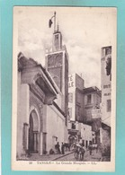 Old Post Card Of The Grande Mosquee,Tangier, Tanger, Morocco ,S65. - Tanger