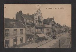 CPA . Dépt.62. LENS . Rue De La Gare . - Lens