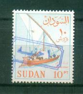 SUDAN / 1988 ? / SCOTT # 368C / MI # 432 V ( 1990 ) / 10 POUNDS OVER 10 PT IN BLUE  / MNH / VF - Sudan (1954-...)