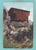 Old Post Card Of En Valais,Switzerland.,S65. - VS Valais