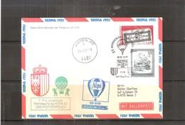 Österreich 1981 - Ballon Postflug - Pro Juventute Wipa 81 - Oberösterreich (to See) - Par Ballon