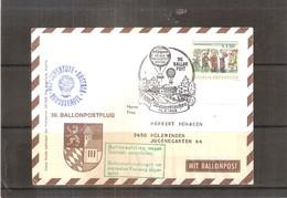 Österreich 1968 - Ballon Postflug  (to See) - Par Ballon