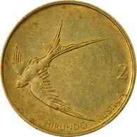 Monnaie, Slovénie, 2 Tolarja, 1993, TB+, Nickel-brass, KM:5 - Slovénie