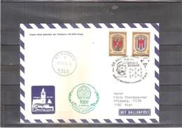 Österreich 1976 - Ballon Postflug  (to See) - Par Ballon