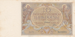 Pologne - Billet De 10 Zlotych - 20 Juillet 1929 - Poland