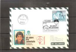 Österreich 1987 - Ballon Postflug  (to See) - Par Ballon