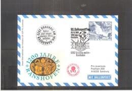 Österreich 1988 - Ballon Postflug  (to See) - Par Ballon
