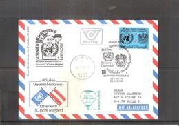 Österreich 1985 - Ballon Postflug  (to See) - Par Ballon