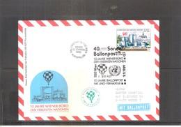 Österreich 1989 - Ballon Postflug  (to See) - Par Ballon