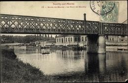 Cp Neuilly Sur Marne Seine Saint Denis, Le Pont, Brücke - France