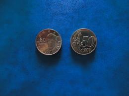 GREECE 1 COINS  FIRST EDITION 2002  0,50 CENT - Grèce