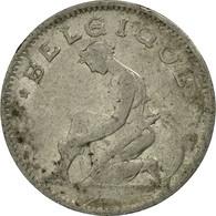 Monnaie, Belgique, 50 Centimes, 1923, B+, Nickel, KM:87 - 1909-1934: Albert I