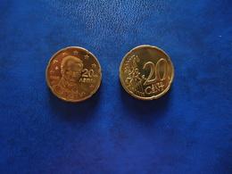GREECE 1 COINS  FIRST EDITION 2002  0,20 CENT - Grèce