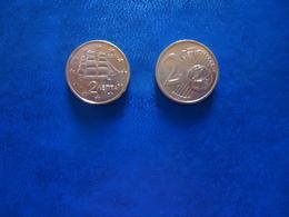 GREECE 1 COINS  FIRST EDITION 2002  0,02 CENT - Grèce