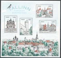 France 2018 - Capitales Européennes : Talinn - Blocs & Feuillets