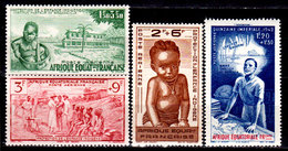 Africa-Equatoriale-Fr.-0008 - Posta Aerea 1942 (+) Hinged - Senza Difetti Occulti. - Neufs