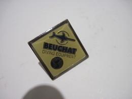 PINS  BEUCHAT DIVING EQUIPMENT  équipements De Plongée T.B.E. - Diving