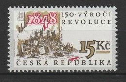 MiNr. 189  Tschechische Republik: 1998, 27. Mai. 150. Jahrestag Der Revolution Von 1848. - Tschechische Republik
