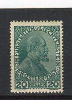 LIECHTENSTEIN - Y&T N° 8* - Jean II - Liechtenstein