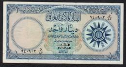 IRAQ : 1 Dinar - P53a  - 1959 - XF - Iraq