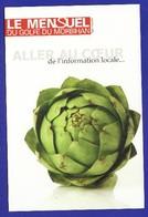 PUB CP Années 90 Journal LE MENSUEL DU GOLF DU MORBIHAN Edit : (Très Très Bon état) --428) - Publicité