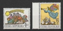 MiNr. 197 - 198  Tschechische Republik: 1998, 18. Nov. Weihnachten. - Tschechische Republik