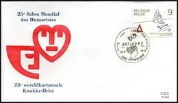 "BELG.1986 2224 FDC ( Ransart ) : "" Jeugdfilatelie / Philatelie De La Jeunesse "" - FDC"