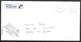 FRANCE '59 BERGUES CCL' 1992  1  MARQUE POSTALE - Marcophilie (Lettres)
