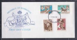 Australia, Province Of Bumbunga 1980 Prince Charles FDC - Cinderellas