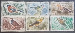 Lebanon 1965 Mi 894-899 Complete Set - Birds Issue - Bird - Lebanon