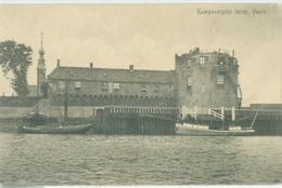 Veere 1916; Kampveersche Toren - Gelopen. (G.J. Schippers - Veere) - Veere